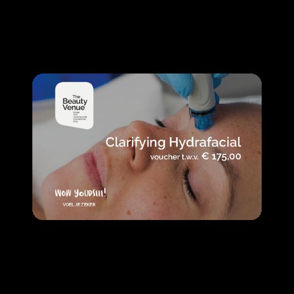 Clarifying hydrafacial