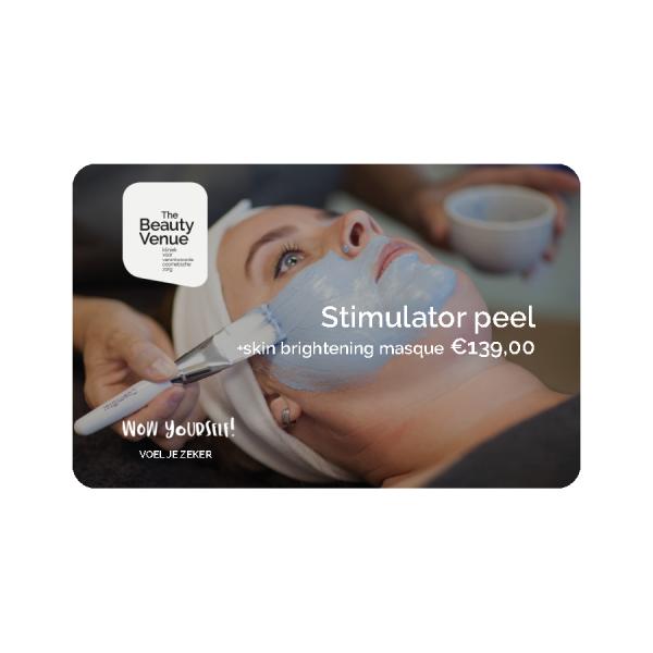 Stimulator peel skin brightening masque