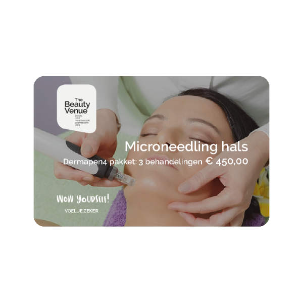 Microneedling hals pakket