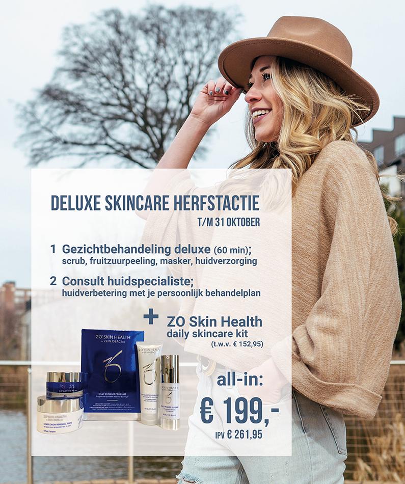 Deluxe Skincare Herfstactie
